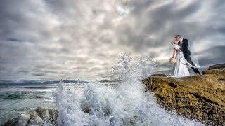CRAZIEST Real Wedding Day Beach Shoot Ever W/off Camera Flash W/ Flashpoint RL600B & Sony A7ii