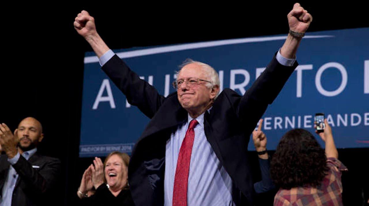 Bernie Sanders Keeps Rising In National Polls thumbnail