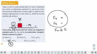 Eğitim Vadisi 9.Sınıf Fizik 14.Föy İş ve Enerji Konu Anlatım Videoları