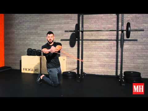 Kneeling T-Spine Rotation