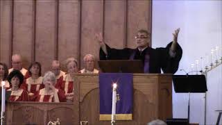 """""""The Misery We Love!""""; Scripture Readings: Matthew 21:1-11 and Romans 12:1-2; Rev. Dr. Cra"""