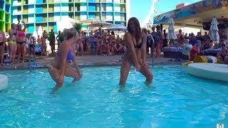 Грязные Танцы в Бассейне. Тусовки Лас Вегаса. Танцующие Фонтаны Белладжио