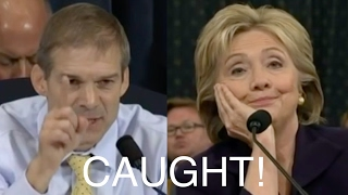 Jim Jordan Exposes Hillary Clinton's Lies!