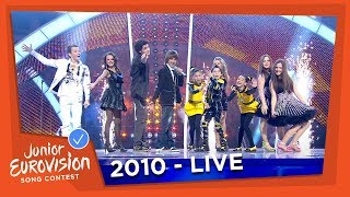 Junior Eurovision Song Contest 2010 - All previous winners together