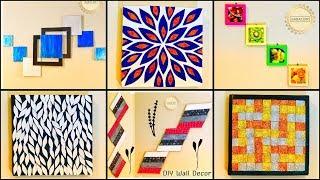 6 Super Simple Wall Decor Ideas gadac diy DIY from Waste Materials diy crafts home decorating ideas