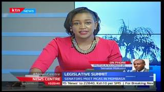 News Centre: Legislative Summit - Senators meet MCA's in Mombasa