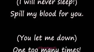 Falling in Reverse - Raised by Wolves (LYRICS ON SCREEN)