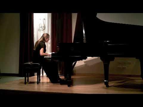 W. A. Mozart, Sonata for Piano in F Major, K. 332, Mvt. II