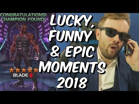 Seatin Lucky, Funny &amp Epic Moments 2018 - Mega Compilation - Marvel Contest Of Champions