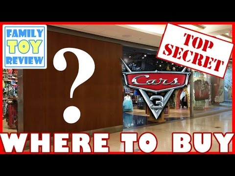Disney Cars 3 Toys - SECRETS REVEALED Part I - Top 5 WHERE TO BUY Toys for Disney Cars 3 TOY HUNT