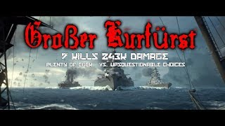 7 Kills 243k DMG ✠ GK ✠ World Of Warships