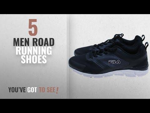 Fila Road Running Shoes [ Winter 2018 ]: Fila Men's Memory Foam SteelSprint Athletic Shoes – Black