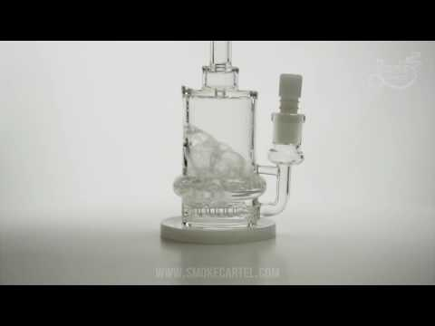 Maverick Glass Chubby Inline Percolated Water Pipe on Youtube