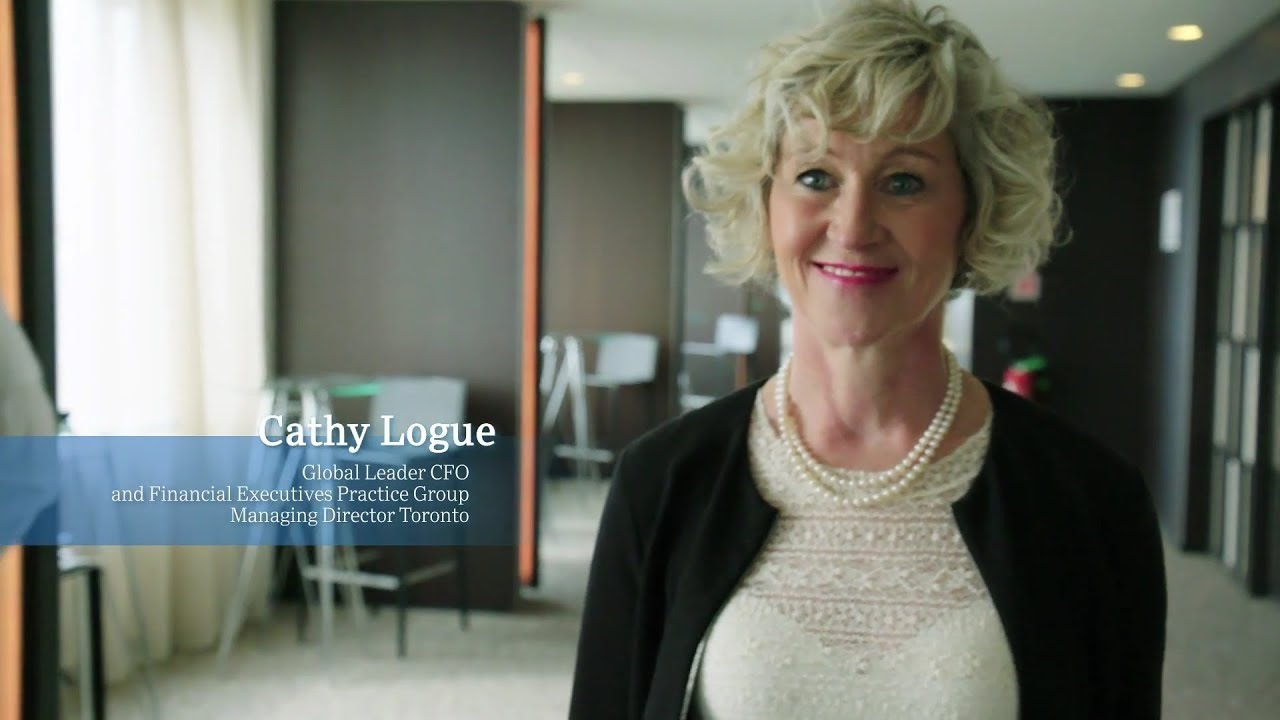 Cathy Logue on leading the CFO and Financial Practice Group Cover Image
