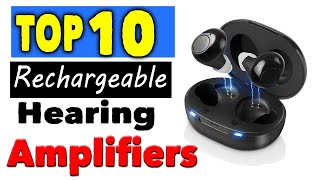 Best Rechargeable Hearing Amplifiers | Best Hearing Device for TV Listening