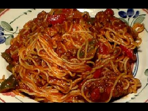 Easy Homemade Spaghetti & Meat Sauce Recipe: The Best Spaghetti And Meat Sauce