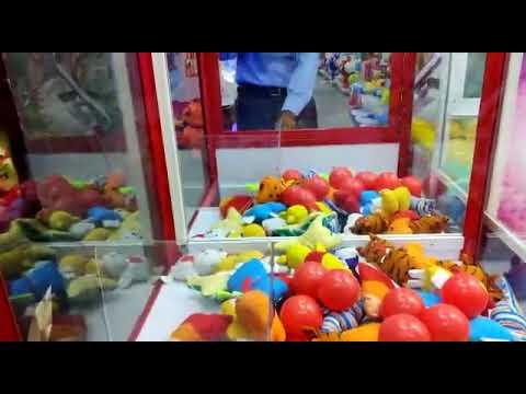 Gift Catcher Arcade Game Machine Sweet Land