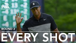 Tiger Woods: Every shot from his 2nd-round 73 at 2019 PGA Championship