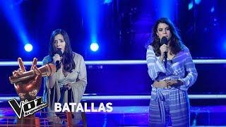 """Camila Molina vs Bahía Lacarmon - """"Tanto amor"""" - Abel Pintos  - Batallas - La Voz Argentina 2018"""