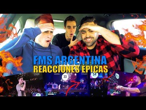 LAS 20 REACCIONES MÁS ÉPICAS DE TODA LA FMS ARGENTINA