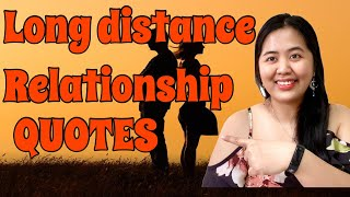 LONG DISTANCE RELATIONSHIP QUOTES  || INSPIRATIONAL