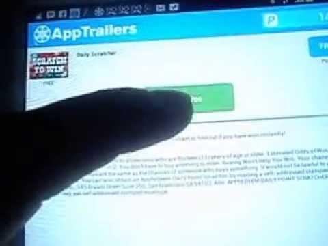 Video Cara Mendapatkan Uang Gratis Di Android Dengan Aplikasi Apptrailers