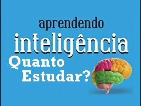 Aprendendo Inteligência - Quanto Estudar? (5/10)