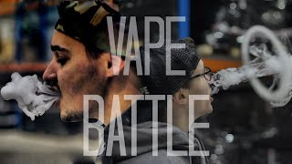 VAPE BATTLE - FILIP VS KAREL (CZ)