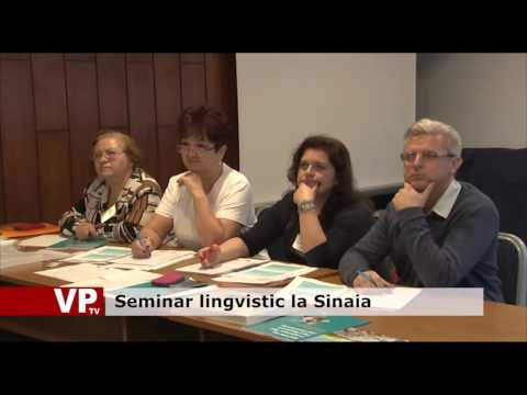 Seminar lingvistic la Sinaia