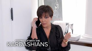 KUWTK | Kris Jenner Receives Emergency Call From Kendall | E! - dooclip.me