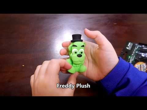 Five Nights at Freddy's Squishme Series 8 Glow in the Dark
