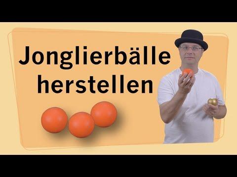 Jonglierbälle herstellen / Jonglierbälle selber basteln - DIY - Anleitung