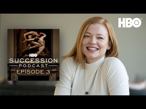 Succession Podcast: Interview with Sarah Snook   HBO