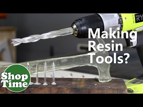 Can You Make Tools Out of Resin?