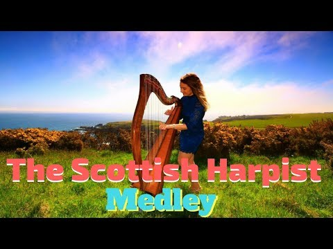 The Scottish Harpist Video