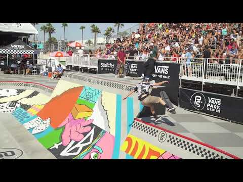 Andy Anderson at Vans Park Series America's Continental Championships 2018