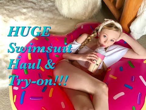 Huge Summer Swimsuit - Bathing Suit Haul Zaful Review With Princess Ella 👙👙☀️😎