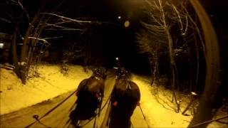 preview picture of video 'Kulig Skalny Dworek Brenna'