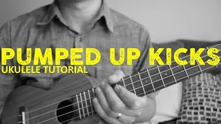 Pumped Up Kicks - Foster the People - EASY Ukulele Tutorial - Chords - How To Play