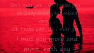 i miss you - enrique iglesias lyrics