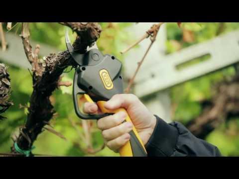 Video Promozionale delle Forbici da Potatura Volpi I-FORCE PV80