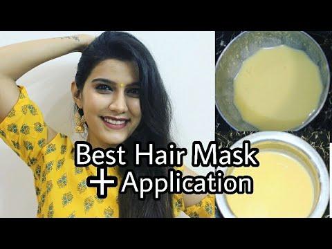 Hair Mask itlog at shampoo