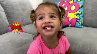 Pretend Play Nail Salon for Children with Magic Wheel