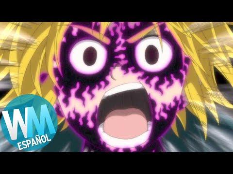 ¡Top 10 Escenas de Anime Donde el HÉROE PIERDE EL CONTROL!