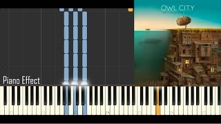 Owl City - Shooting Star (Piano Tutorial Synthesia)