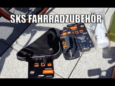 SKS Fahrradzubehör - Trinkflasche, Flaschenhalter, Tasche und Werkzeug
