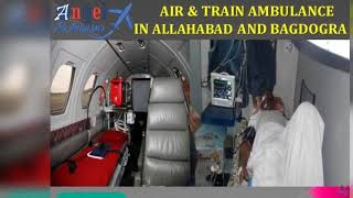Get Full Advanced Air & Train Ambulance in Allahabad by Angel