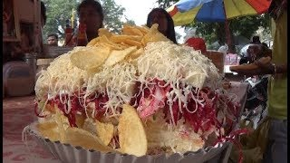 Biggest Sandwich Of India | Bahubali Sandwich  Of Mumbai | Indian Street Foods...