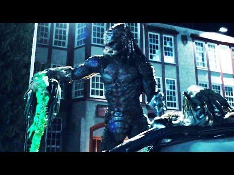 The Predator 2018 -  Fight Scenes BIG PREDATOR  Full Battle  [HD] PART 1
