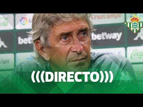Getafe 3-0 Real Betis (Liga Santander 2020/21) (Rueda de prensa de Manuel Pellegrini previa al partido Getafe CF-Real Betis)